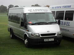 Unknown KX06YJJ (yorkcoach2) Tags: york ford fordtransit kx06yjj races racecourse raceday