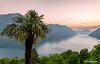 Tramonto sul Ceresio (NRG SHOT) Tags: sunset ceresio lake see lago lagodilugano palma palm panorama montagne valsolda castello nrgshot nikon nikkor