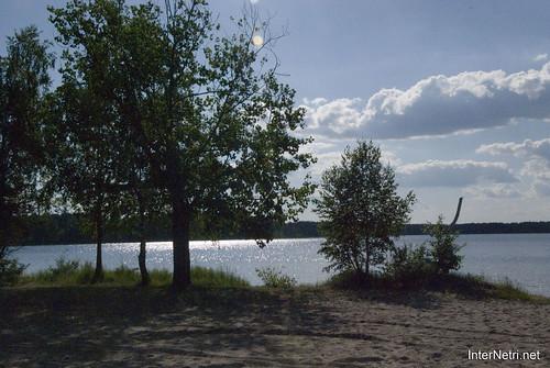 Шацький Національний Природний Парк Озеро Пісочне  Блиск сонця в воді InterNetri  Ukraine 112