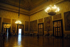 Palazzo Reale - Hercules Hall (zawtowers) Tags: naples napoli campania italy italia may 2018 summer holiday vacation break warm dry sunny palazzo reale royal palace baroque architecture built 17th century used bourbon kings residence hercules hall salone dercole farnese museum later wide ballroom dancing