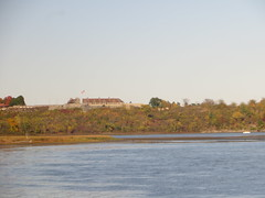 20161011 25 Fort Ticonderoga, New York (davidwilson1949) Tags: amtrak railroad adirondack fortticonderoga newyork lakechamplain