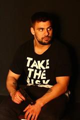 Russian gangster Evgeniy (m9165557748) Tags: tattoo gangster tokarev pistol gun boy