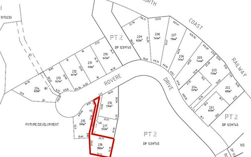 Lot 218 Rovere Drive, Coffs Harbour NSW