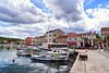 Stari Grad (Old Town), Hvar Island (Jocelyn777) Tags: sea adriaticsea water boats harbour villages towns islands buildings architecture cityscape stone stonehouses historictowns hvar hvarisland croatia travel sky clouds