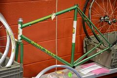 CR2018-0148 swap meet - Jamie Swan frame (kurtsj00) Tags: classic rendezvous 2018 vintage lightweight bicycles bike jamie swan
