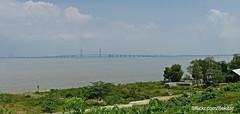 View from Kebanyartimu to Indonesia's longest bridge Suramadu, 5.4 km, Madura (Sekitar) Tags: pulau madura suramadu insel island indonesia provinsi jawa timur ostjava java eastern view kebanyartimu indonesias longest bridge jembatan pemandangan
