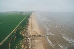 Fraisthorpe (Matthew-King) Tags: fraisthorpe beach sea water aerial photography drone dji
