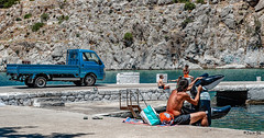 _DSC6233 - Les grecs profitent de leur mer. (Jack-56) Tags: mazda greece vathy kalymnos