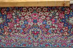 Persian Carpet, Ravar, Kerman Province (Ninara) Tags: iran ravar kerman carpet flower weaving rug