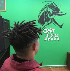 Crazy Fool Dread - 1375 (Crazy Fool Dread) Tags: dreads dreadlocks dread dreadmaker dreadlock dreadbrasil dreadspoa dreadsportoalegre dreadstyle drealocks dreadsbrasil dreadock dreadlike dreadfeeling crazyfooldread crazyfooldreads