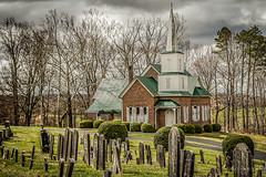 New Providence (Back Road Photography (Kevin W. Jerrell)) Tags: nationalregisterofhistoricplaces churches historic backroadphotography nikond7200 surgoinsville tennessee ruralphotography ruralchurches countrychurches cemetery presbyterian christianity faith