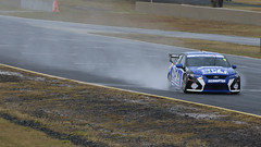 FORD Powerspray (1/3) (Jungle Jack Movements (ferroequinologist)) Tags: ford falcon wet spray eastern creek sydney motorsport park smsp new south wales nsw kumho v8 racing supercars van gisbergen steven john stone brothers dick glenn seton neil crompton jason foley nathan cantrell brad neill credit jim beam sp motor pass race speed car cars hottie track practice pole position times timing hard competition competitive event sports racer driver engine build fast grid circuit drive helmet number