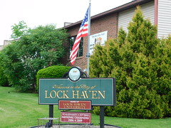 Welcome to Lock Haven, Pennsylvania (jimmywayne) Tags: pennsylvania lockhaven clintoncounty historic welcom welcome citylimit