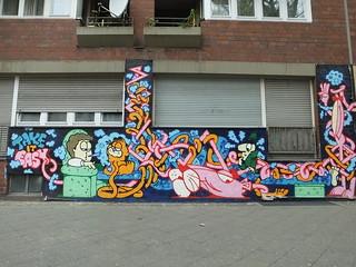 Street art Urban Spree, Berlin