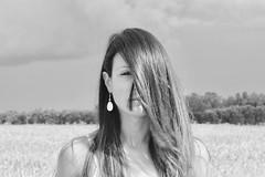 Mina (marcus.greco) Tags: portrait blackandwhite woman nature