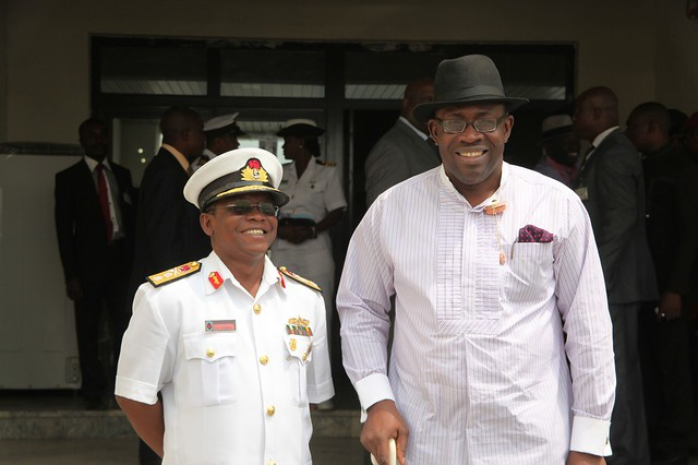 HSDickson - Courtesy Call By Chief Of Naval Staff 02 January 2013