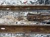 20180613 Tarred tramlines in Blackpool (blackpoolbeach) Tags: blackpool talbotsquare tramway tram rails lines track streetcar tar heat dripping oxyacetylene cutter burner torch stalactites