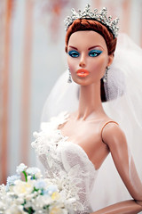 GlamourOz Dolls KOTALIN BIZELLE Glittering Gala Prototype - as a 'June Bride'. (Kim ️) Tags: glamouroz dolls glittering gala™ prototype june bride kimlondon fashiondoll doll collection kotalin bizelle
