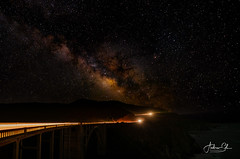 Highway to the stars #2 (Visualvalhalla) Tags: bigsur bixbycreekbridge california hwy1 milkyway bridge longexposure