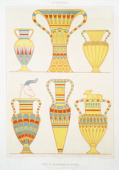 Asian tributary vases from Histoire de l'art égyptien (1878) by Émile Prisse d'Avennes (1807-1879). Digitally enhanced by rawpixel. (Free Public Domain Illustrations by rawpixel) Tags: egyptian otherkeywords anillustrationoftheegyptian ancestry ancient ancientegyptian ancientegyptianart antique archaeological archeology art artwork asian cc0 design designing drawing dynasty egypt egyptiandesignvase egyptiankingdom egyptianpottery egyptien egyptology empire handdrawn histoiredelartégyptien historical history illustration interior kingdom mythology objects old oldfashioned outlines outlinesfromtheantique pattern pottery psd publicdomain sepia sketch story traditional tributary vases vintage émileprissedavennes