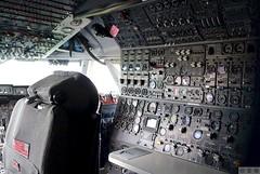 Cockpit, Flight Engineer seat, KLM Boeing 747-200 (Eadbhaird) Tags: aviation cockpit flightengineerseat klm boeing747 b742 museum lelystad royaldutchairlines aviodrome jumbo aircraft