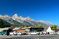 Moose, Wyoming (RPahre) Tags: moose wyoming tetons grandtetons grandteton grandtetonnationalpark bluesky outfitters
