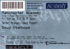Doug Stanhope @ Manchester Academy 15/6/2018 (stillunusual) Tags: dougstanhope manchester manchesteracademy comedy standup standupcomedy gig humour humor lol funny ticket 2018