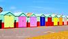 The Joy of Colours (Francesco Impellizzeri) Tags: brighton england beach huts canon landscape colours ngc