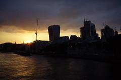 London (Loïc BROHARD) Tags: london evening lights sunset thames southbank shard visitlondon