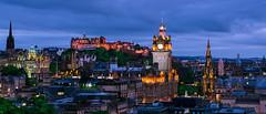 Edinburgh City Scape (jamiecrichton) Tags: cityscape rooftops night nightphotography castle scotland edinburgh