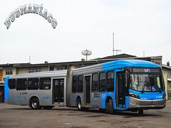 6 2246 TUPI - Transportes Urbanos Piratininga (busManíaCo) Tags: tupi transportes urbanos piratininga millennium brt articulado o500ua bluetec 5 mercedesbenz