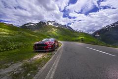 Road to Oberalppass - Uri - Switzerland (R.Smrekar-CH) Tags: road mustang landscape mountain 000500 d750 smrekar 2018 switzerland
