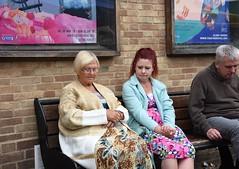 Sleeping Beauty (Bury Gardener) Tags: streetphotography street streetcandids candid candids people peoplewatching folks strangers snaps 2018 nikond7200 nikon burystedmunds suffolk england eastanglia uk cornhill