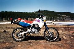 1993 Honda XR650L (twm1340) Tags: 1993 honda motorcycle dualpurpose street enduro xr650l co colorado 650 single cylinder