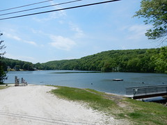 Lake Stockholm in #stockholmnj #hardystonnj #nj is an excellent example of the summertime vacation cottage destinations that used to dot #sussexcountynj and which slowly converted to full year residential commuter communities. (gardenstatepics) Tags: nj new jersey