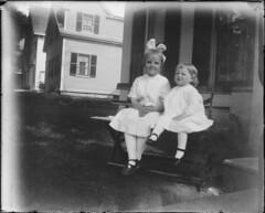 Sister - Vintage film (Photo Alan) Tags: glass negative vancouver blackwhite blackandwhite glasses sister