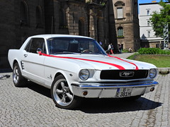 To have and to hold (Couldn't Call It Unexpected) Tags: ford mustang potsdam berlin wedding car