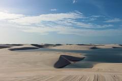 Lencois (IDOMENEAS) Tags: brasil lencois desert sand lagoon