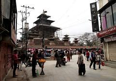 2018-04-08 (Giåm) Tags: kathmandu kathmandou katmandou katmandu काठमाडौं durbarsquare kathmandudurbarsquare hanumandhokadurbarsquare kathmanduvalley nepal नेपाल giåm guillaumebavière