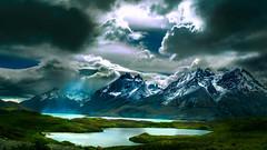 Cordillera del Paine (shchukin) Tags: magallanes chile cordilleradelpaine torresdepaine cerropainegrande torresdelpainenationalpark clouds rock landscape light lagonordenskjöld shchukin nikon nikond5200 sigma
