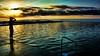 Morning swim (Miradortigre) Tags: sunrise beach sea sun amanecer mar playa pileta piscina swiming pool nado australia nsw bulli flickr photography nikon morning