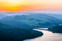 Bamford Edge Sunset (marc_leach) Tags: bamfordedge peakdistrict nationalpark ladybower reservoir sunset landscape canon