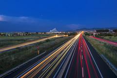 Drive (Luigi.glpy) Tags: calatrava torvergata light luci scie car fujifilm xt10 tokina1116mmf28 drive luigiglpy