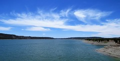 Clouds Over Navajo Lake (Patricia Henschen) Tags: navajo statepark navajostatepark parkswildlife arboles colorado coloradoparkswildlife park spring reservoir lake sanjuanriver river clouds