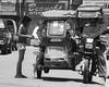 Pedicab (Beegee49) Tags: pedicab filipina passengers girls public transport bacolod city philippines