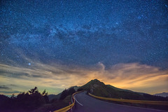 Milkey Way (Howtonwhyton) Tags: taiwan milky way taichung nikon nikkor night nightview view vacation 1424mm wideangle 合歡山 銀河 石門山
