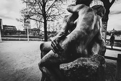 Le Baiser (awdylanis) Tags: baiser lebaiser thekiss rodin auguste augusterodin statue sculpture marble paris france jardindestuileries jardindestuileriesparis jardin des tuileries musée de lorangerie muséedelorangerie stolenkiss kiss kissing love secret march 2018 travel art street bridge building paolo francesca dante's divine comedy dante'sdivinecomedy divinecomedy terrasse l orangerie terrassedelorangerie