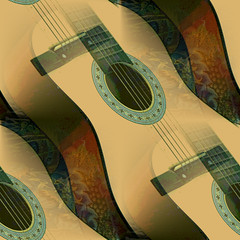 offering with multiple strings attached (msdonnalee) Tags: guitar digitalfx artdigital abstract abstrait abstrakt abstracto astratto