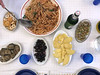 """Dinner at Melina's (L e n o r a) Tags: italia sicilia """"barcellona pozzo di gotto"""" italy sicily food meals sicilianfood pasta cheese mushrooms olives formaggio olive funghi"""