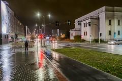 Kielce (nightmareck) Tags: kielce świętokrzyskie polska poland europa europe rain deszcz fotografianocna bezstatywu night handheld fujifilm fuji fujixe1 fujifilmxe1 xe1 apsc xtrans xmount mirrorless bezlusterkowiec xf1855 xf1855mm xf1855mmf284rlmois zoomlens fujinon